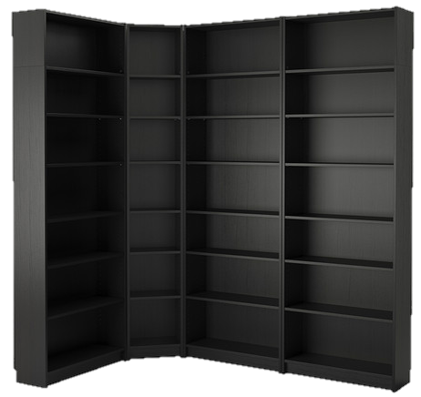 Products Display, Open Storage Furniture (4 units)