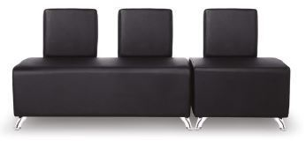 3 Seater Waiting Area Pouf
