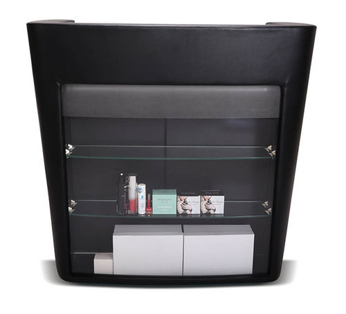 Display Case for Beauty and Hair Salon