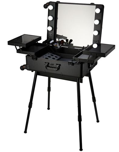 Makeup Storage Box with stand
