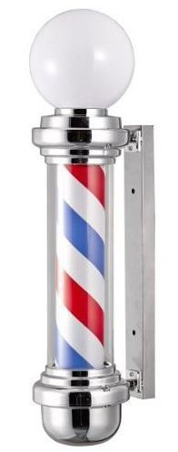 Barber Shop Pole Light  – Vintage