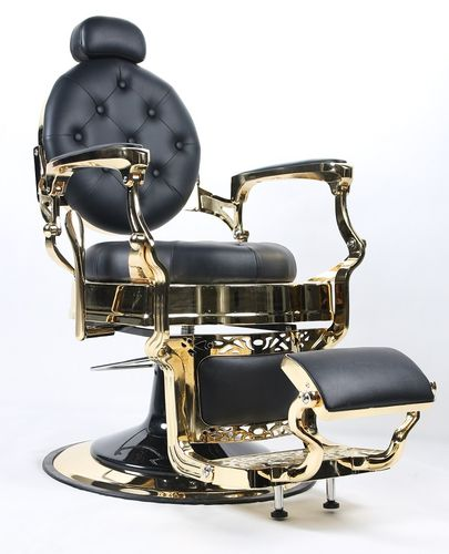 Man's Salon Chair Gold
