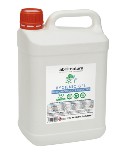Gel desinfectante Hidroalcoholico abril et nature 5000ml.