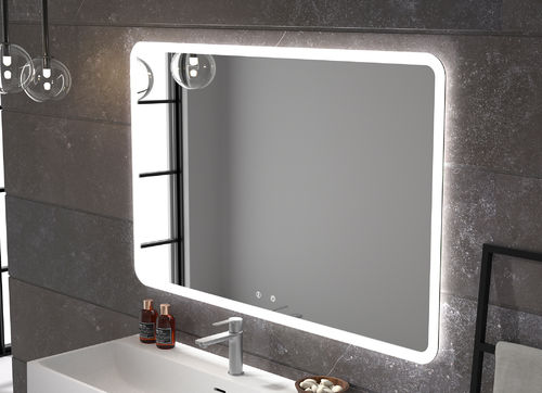 Led light mirror Elm